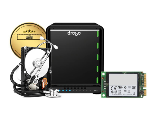 DRDR6A21-G10TB - Drobo 5D3 Gold Edition with 10TB