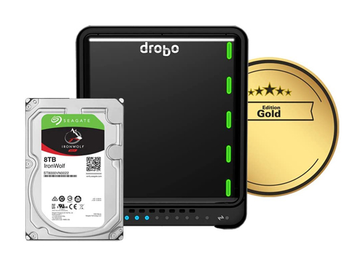 DRDS5A21-G40TB - Drobo 5N2 - Gold Edition with 40TB