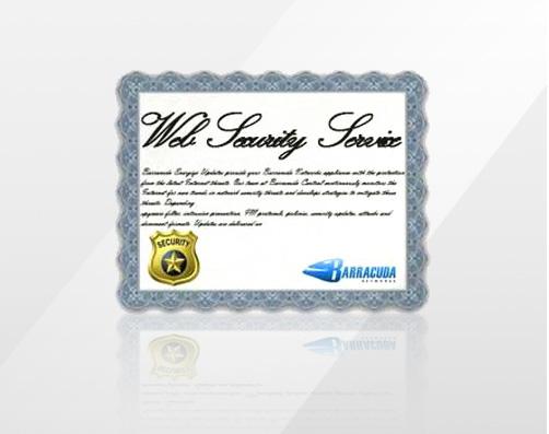 BWU100a-w60 - Web Security Service 5 Year Service